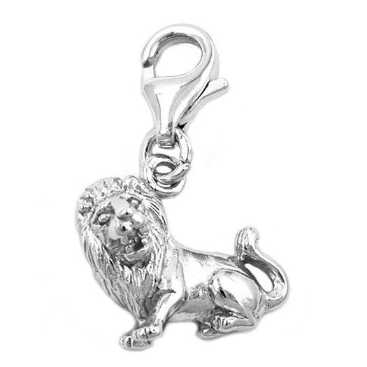Charm-Sternzeichen-Löwe-925-Silber
