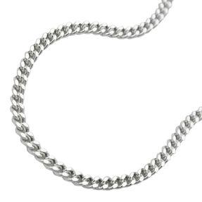 Bauchkette Kette Panzerkette aus echtem 925 Silber, 90cm, für Damen