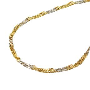 1-8mm-Singapurkette-375-Gold-bicolor-45cm