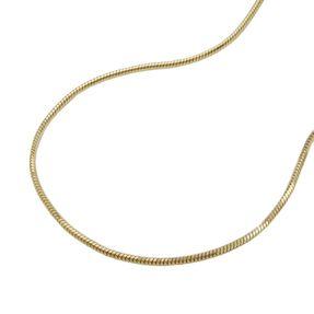 0-7mm-Schlangenkette-5-kant-585-Gold-38cm