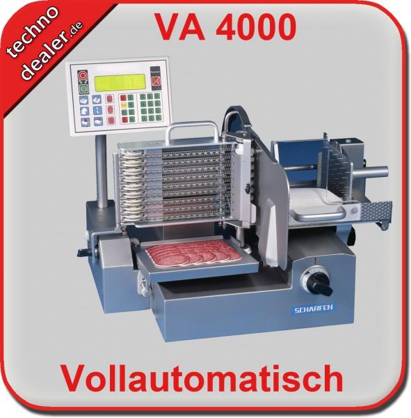 Scharfen Vollautomatischer Schnellschneider  VA 4000 - Aufschnittmaschine Allesschneider  – Bild 3
