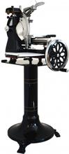 Volano 300 SCHWARZ mit Glattrad - Aufschnittmaschine Schwungradmaschine  001