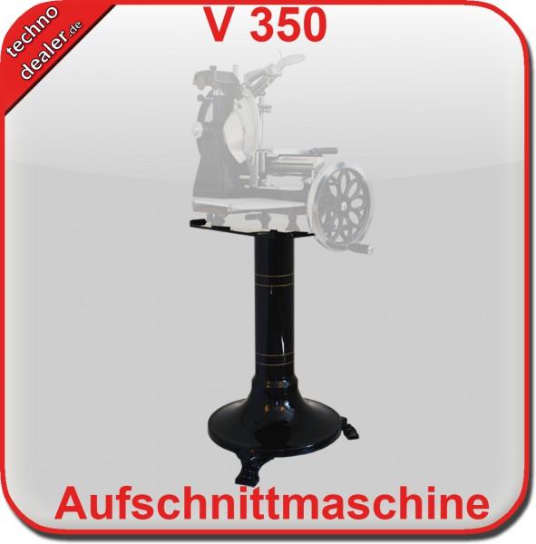Aufschnittmaschine Schwungradmaschine OS 350 SCHWARZ mit Blumenrad - Old Style Slicer – Bild 2