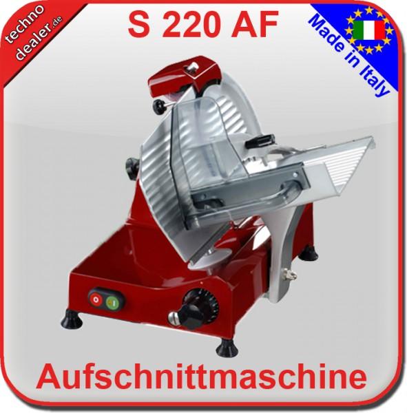 S 220 AF ROT - Aufschnittmaschine Allesschneider   – Bild 2