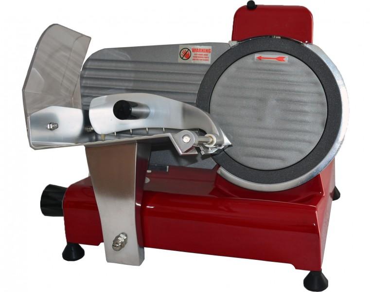 RS 250 ROT TEFLON - Aufschnittmaschine Allesschneider – Bild 1