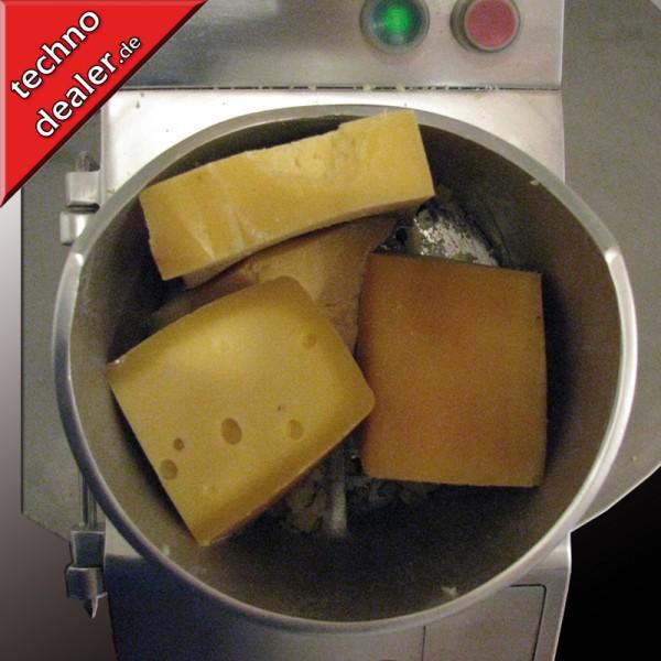 Gemüseschneider Käsereibe Reibe RC65 2.WAHL Profigerät - Schneidleistung 320 kg/h, Extra große Öffnung – Bild 3