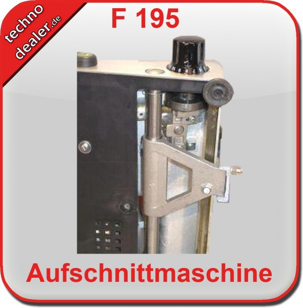 F 195 SILBER 2.WAHL - Aufschnittmaschine Allesschneider  – Bild 4