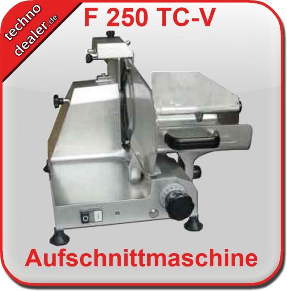 Slicer F250TC-V SILBER -  Aufschnittmaschine Allesschneider – Bild 2