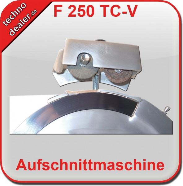 Slicer F250TC-V SILBER -  Aufschnittmaschine Allesschneider – Bild 3