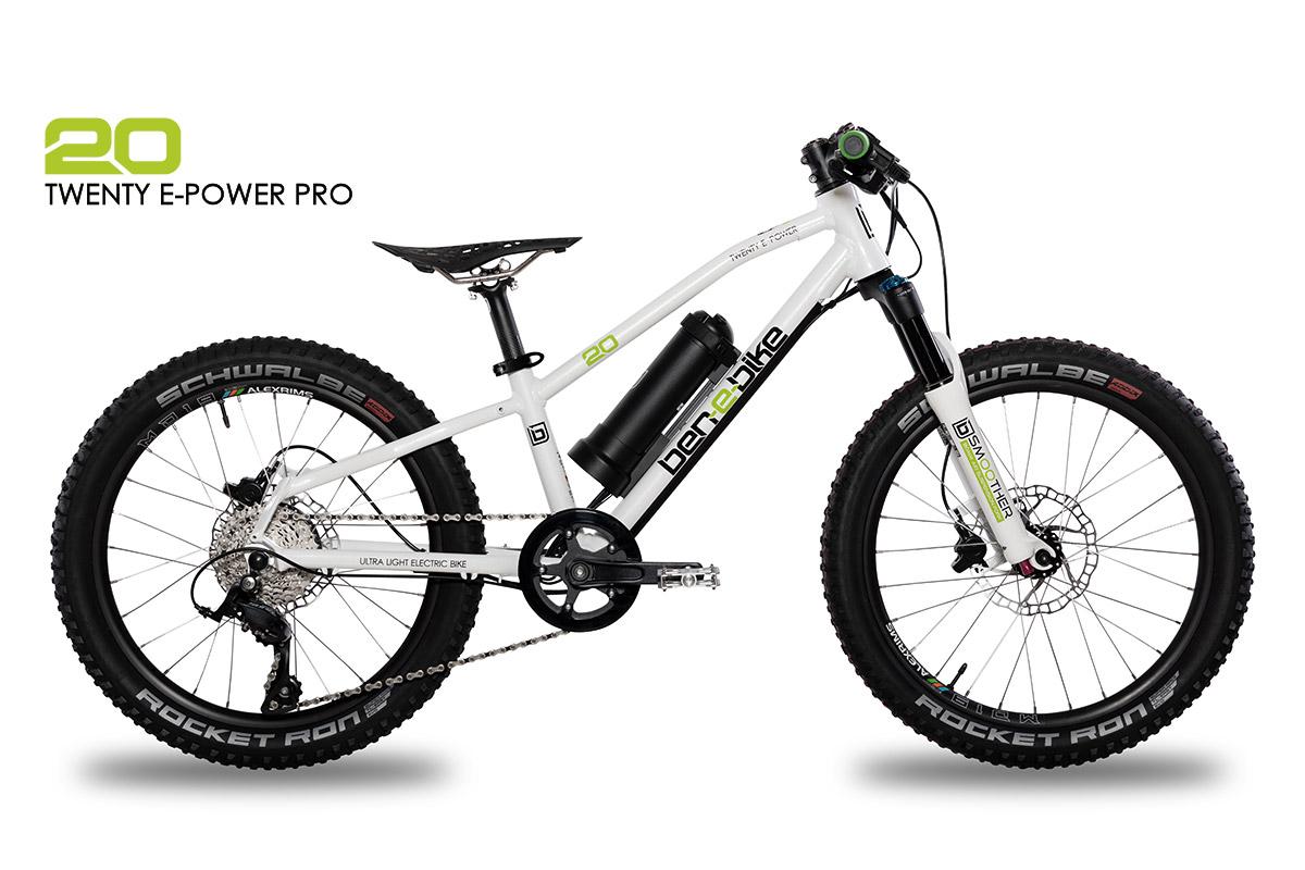 ben-e-bike TWENTY E-Power Pro Kinder-E-Bike mit Federgabel
