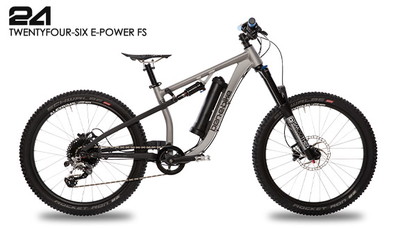ben-e-bike Twentyfour-Six E-Power FS Fully Kinder- & Jugend-E-Bike