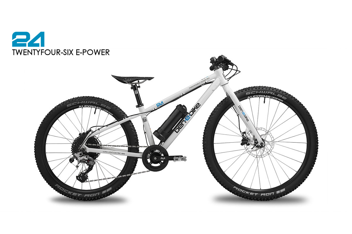 ben-e-bike TWENTYFOUR-SIX E-Power E-bike for children an youth