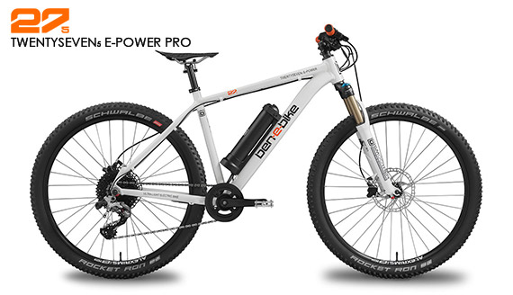 ben-e-bike TWENTYSEVEN5 E-Power Pro Jugend-E-Bike oder E-Bike für kleinere Erwachsene