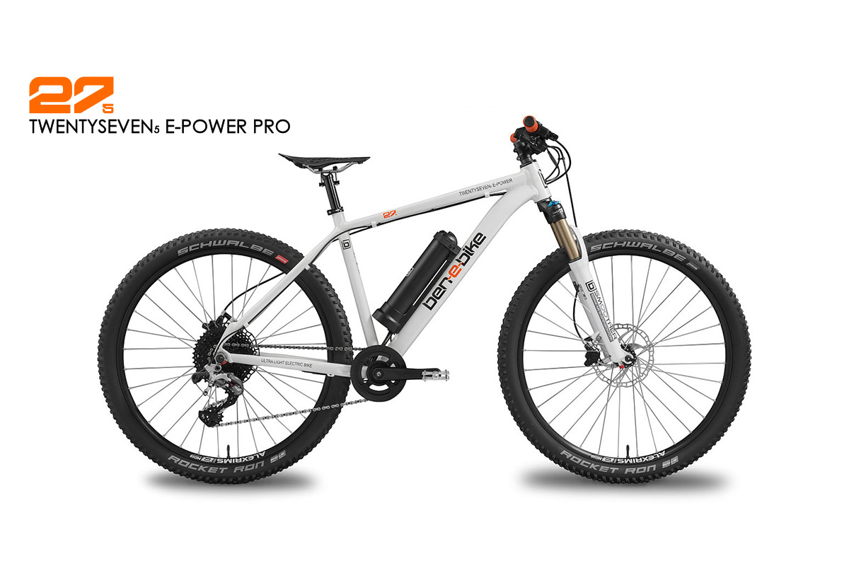 ben-e-bike TWENTYSEVEN5 E-Power Youth-E-Bike or E-bike for small adults