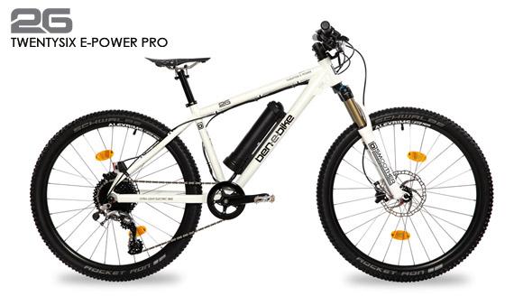 ben-e-bike TWENTYSIX E-Power Pro Jugend-E-Bike oder E-Bike für kleinere Erwachsene