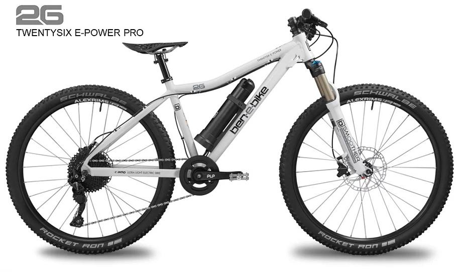 ben-e-bike TWENTYSIX E-Power E-bike for children Pro Jugend-E-Bike oder E-Bike für kleinere Erwachsene