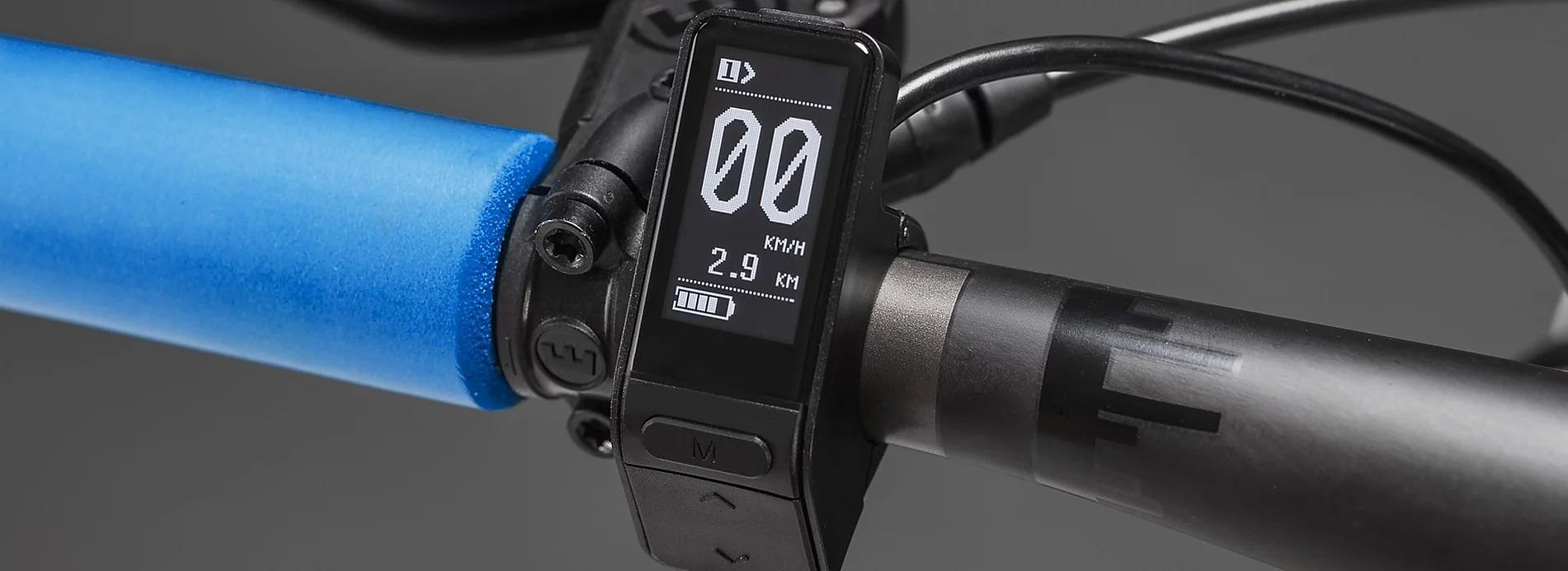 Controll-Display an einem Ben-E-Bike Kinderrad - Jugendrad
