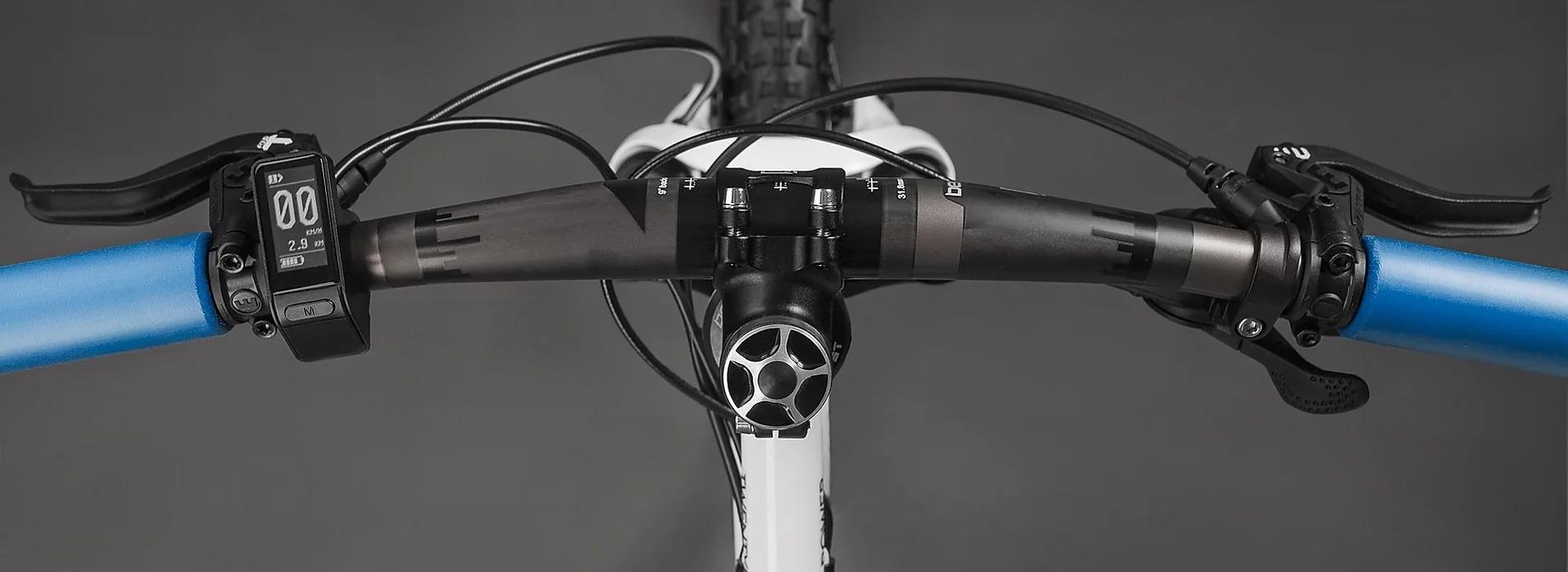 Lenker/Cockpit an einem Ben-E-Bike Kinderrad - Jugendrad