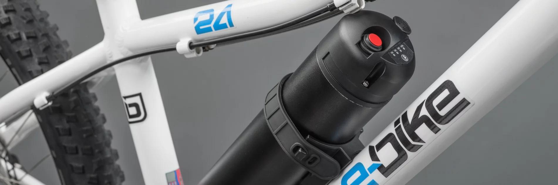 Der Akku des E-Bikes