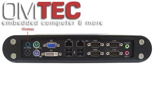 "Lex Neo  (NE2782-00C) CI270C""fanless"" Intel Atom N270 1.6GHz CPU, 1GB DDR II RAM,2xGbit LAN, 4xUSB, 4xCOM,2.5""HDD  – Bild 1"