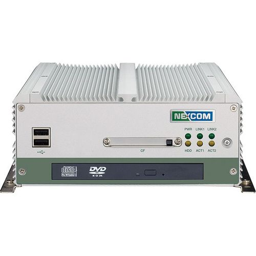 EOL-NISE 3145,  Fanless Embedded Server Socket-P, Support Intel Core 2 Duo/Celeron M w/VGA, DVI, 2xGb LAN, 4xCOM, 6xUSB, Aud