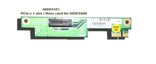 ASSY NISK31E1 One PCIe x 1 slot / Riser card for NISE3500 – Bild 1