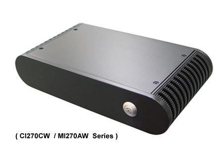 "Lex Neo  (NE2781-00C) CI270C""fanless"" Intel Atom N270 1.6GHz CPU, without RAM,2xGbit LAN, 4xUSB, 4xCOM – Bild 2"