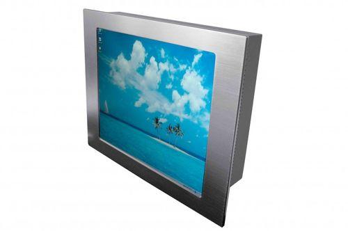 KYOM-i7, 15'' PPC-Core i7, 6mm Alu-front , 2x DDR3 SODIMM bis zu 8GB Ram, 4xUSB 2.0, 4 xSATA (RAID 0+1), 1x DVI-I,1xVGA – Bild 3