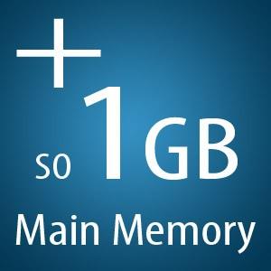 1GB extra Hauptspeicher SO DIMM DDR2