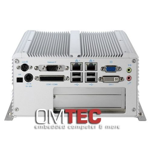 NISE 3520P2 / 3520P2E, Intel® Core™ i7/i5 Fanless System w/ Mini PCIe and 2x Expansion Slots – Bild 1