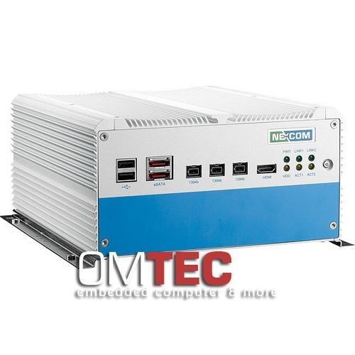 NISE 3500M2E Intel® Core™ i7/i5 Fanless System with IEEE 1394b, eSATA, HDMI and one Expansion Slot – Bild 3