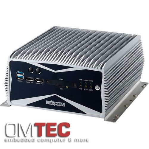 NISE 3600E2 3rd Generation Intel® CoreTM i3/ i5 rPGA Fanless System with Two PCIex4 Expansion – Bild 1