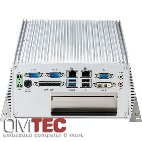 NISE 3600E2 3rd Generation Intel® CoreTM i3/ i5 rPGA Fanless System with Two PCIex4 Expansion – Bild 4