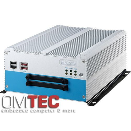 NISE 3500P2S - Fanless Embedded PC  Intel® Core(TM) i7/i5 Fanless System with Two Swappable HDD Trays – Bild 1