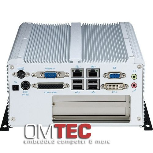 NISE 3500P2S - Fanless Embedded PC  Intel® Core(TM) i7/i5 Fanless System with Two Swappable HDD Trays – Bild 2