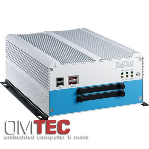NISE 3500P2S - Fanless Embedded PC  Intel® Core(TM) i7/i5 Fanless System with Two Swappable HDD Trays – Bild 4