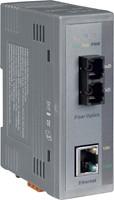 Industrial 10/100 Base-T to 100 Base-FX Fiber Opt