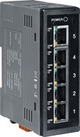 Industrial Smart Ethernet Switch with 5 10/100/10