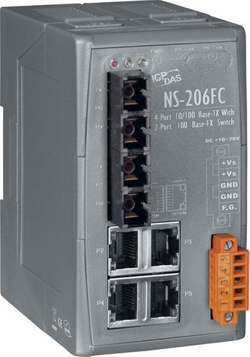 Industrial Smart Ethernet Switch with 4 10/100 Ba