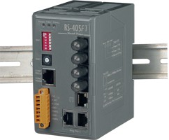 Industrial Redundant Ring Switch with 3 10/100 Ba