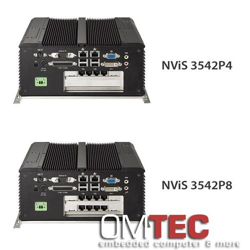 NViS 3542P4/3542P8, In-Vehicle Mobile NVR Surveillance System with Intel® Core™ i5/i7 Processor, 4/8 PoE ports – Bild 2