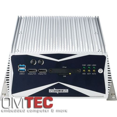 NISE 3600P2E, 3rd Generation Intel® Core™ i5/i3 Fanless System with One PCIex4 and One PCI Expansion – Bild 3