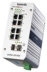 Korenix JetNet 3810GF Ethernet Switch (10 Ports)