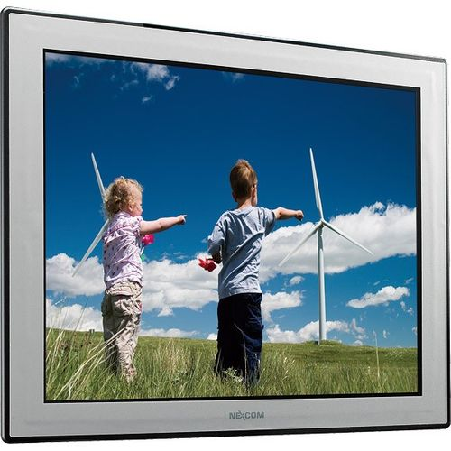 "I-APPC1720T 17"" TFT LCD Panel PC with Intel Atom D525 1.8 GHz, 1GB DDR3 RAM, VGA, 2xGbit LAN, 2xRS232/422/485, 4xUSB, CF, 2.5"" SATA HDD Bay, Audio, 2xMini-PCIe, 12V..30V DC-In – Bild 4"