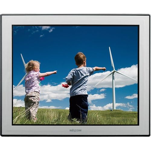 "I-APPC1720T 17"" TFT LCD Panel PC with Intel Atom D525 1.8 GHz, 1GB DDR3 RAM, VGA, 2xGbit LAN, 2xRS232/422/485, 4xUSB, CF, 2.5"" SATA HDD Bay, Audio, 2xMini-PCIe, 12V..30V DC-In – Bild 1"