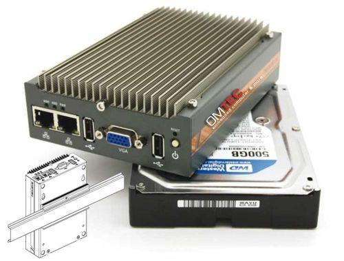 POC-100RK - ультракомпактный Atom D525 безвентиляторный встраиваемый контроллер – Bild 1