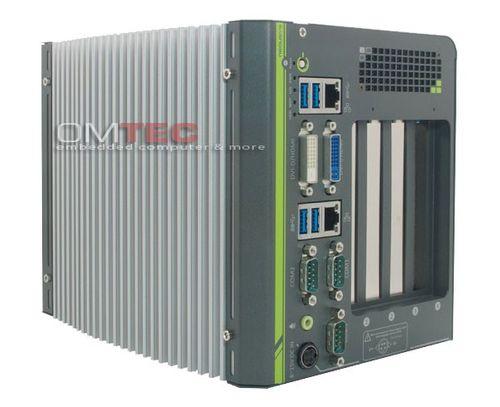 Nuvo-4022 - Intel® 3rd-Gen Core™ i7/i5 Fanless Box-PC with 2x PCIe, 2x PCI Expansion Slots – Bild 2