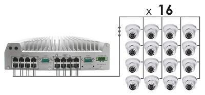 Nuvo-3616VR - безвентиляторная система наблюдения – Bild 6