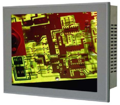 "Lotus-E1223-30 - 12.1"" TFT LCD Panel PC, IP65 rated at front, Intel Atom 1.6GHz CPU, 512MB RAM On-Board, 1xGbit LAN, 3xC"