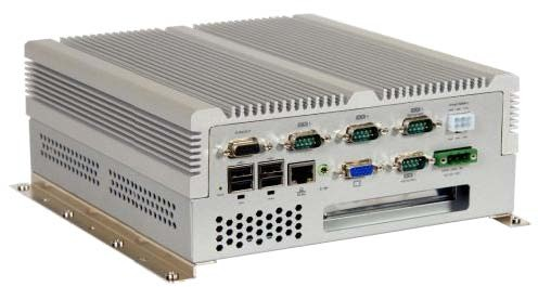 Pipal-2041-835 - Embedded Server mit Intel Atom 1.6GHz, 512MB DDR2 RAM, VGA, 1xGbit LAN,  CF Socket, 5xUSB, 4xCOM, Audio